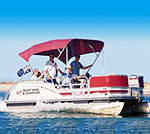 Explore the waterways, passages, rivers and lakes in a range of water craft.